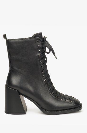 Ботинки черные Estro ER00108818