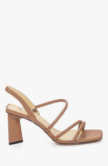 Босоніжки коричневі Estro ER00109759