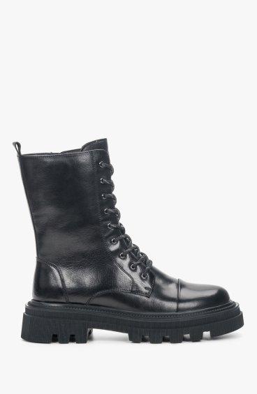 Черевики чорні Estro ER00110164