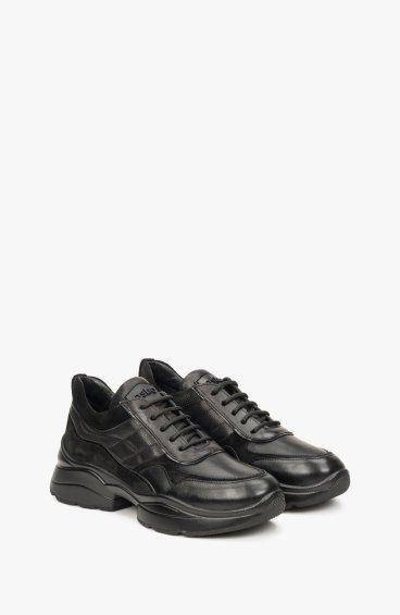 Кроссовки черные Estro ER00108731