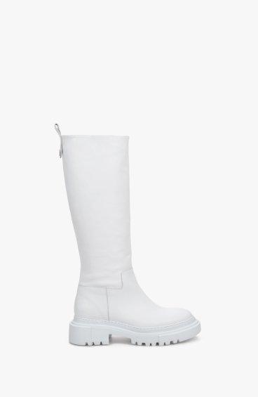 Сапоги белые Estro ER00109156