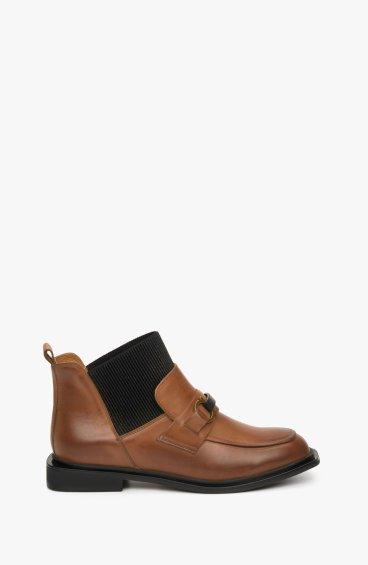 Ботинки коричневые Estro ER00108937