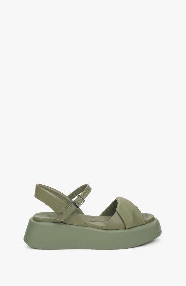 Босоніжки зелені Estro ER00109611