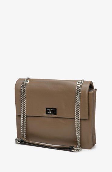 Итальянская кожаная сумка Estro ER00108783