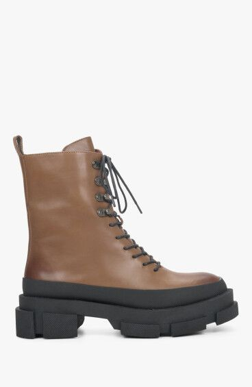 Черевики коричневі Estro ER00110413