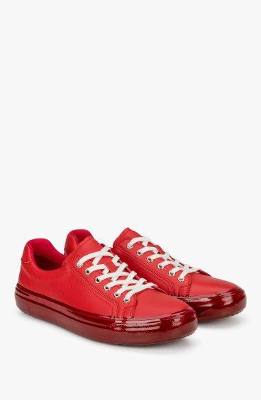 Кеды красные Estro ER00107970