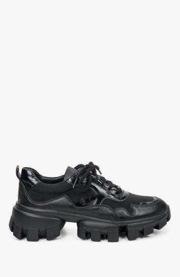 Кроссовки черные Estro ER00109407