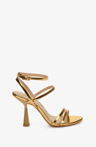 Босоножки женские Estro золотые ER00107676