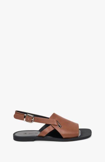 Босоножки коричневые Estro ER00109662