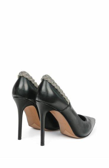 Туфли-лодочки estro чёрные ER00105391