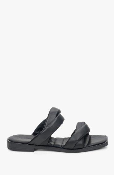 Босоніжки чорні Estro ER00109316