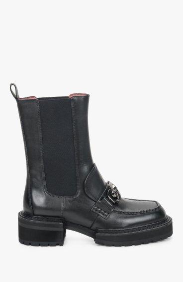 Челси черные Estro ER00110096