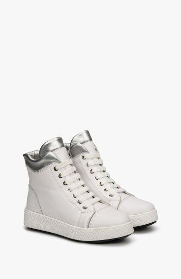 Ботинки белые Estro ER00108664
