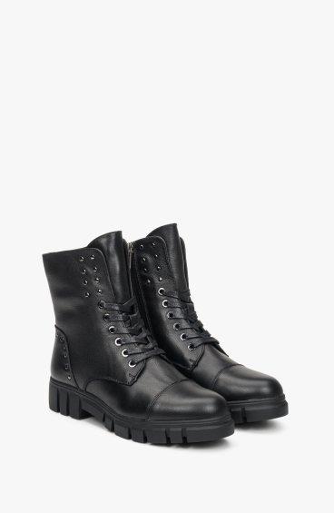 Ботинки черные Estro ER00108673