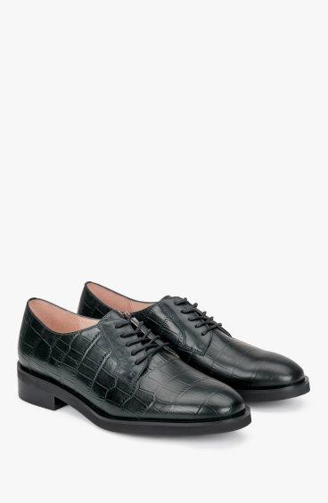 Туфли тёмно-зелёные Estro ER00107980