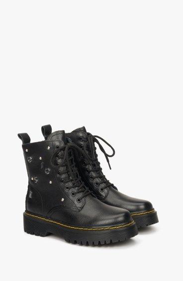 Ботинки с кожаной подкладкой Estro ER00108822