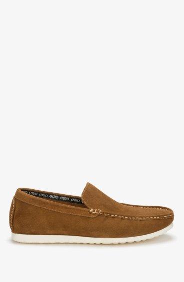 Мокасины коричневые Estro ER00107301