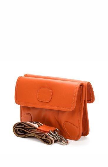 Сумка конверт Estro оранжевая ER00107720