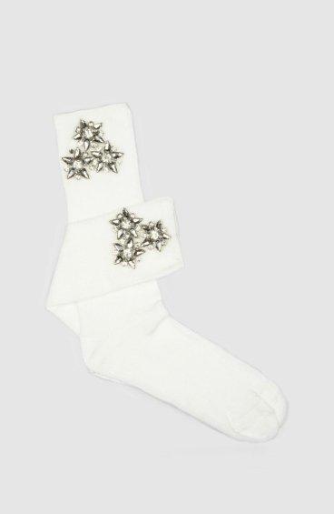 Носки женские белые Estro ER00105316