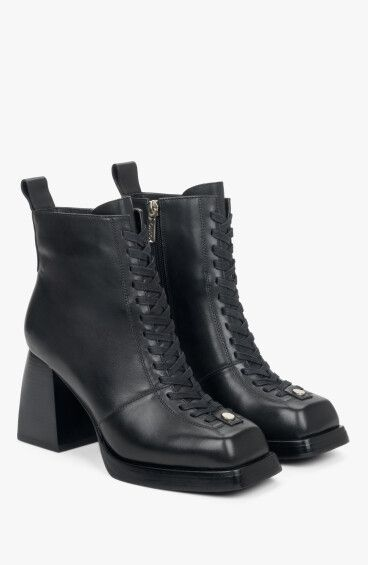 Черевики чорні Estro ER00110410