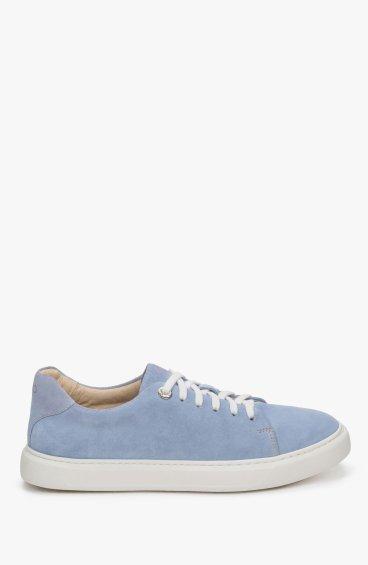 Кеды голубые Estro ER00109426