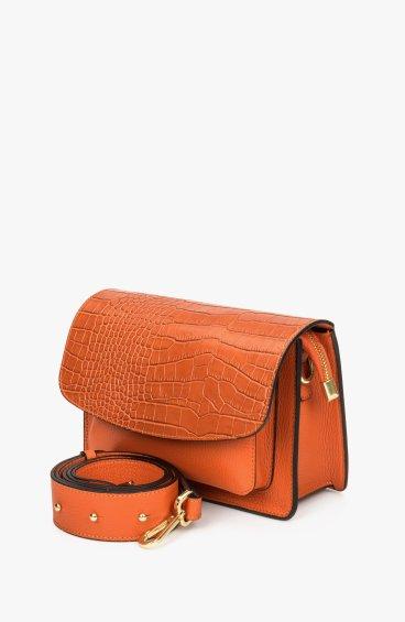 Итальянская кожаная сумка Estro ER00108616