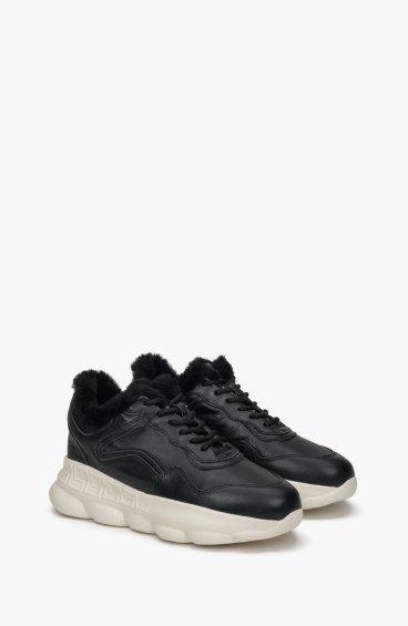 Кросівки чорні утеплені Estro ER00108813