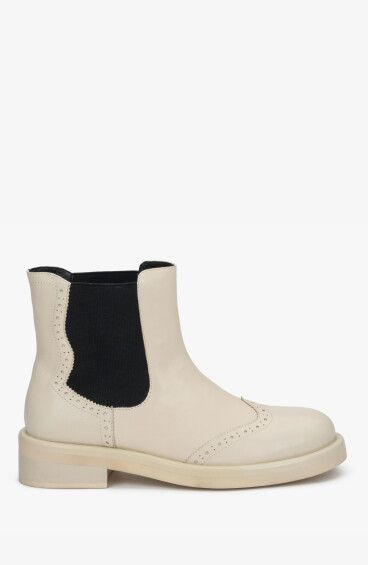 Ботинки с кожаной подкладкой Estro ER00108283