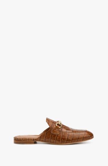 Мюли коричневые Angelo Bervicato ER00107849