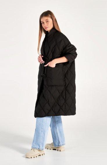 Стьобане пухове пальто Estro ER001101478