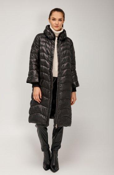 Пальто пуховое удлинённое ER00108562