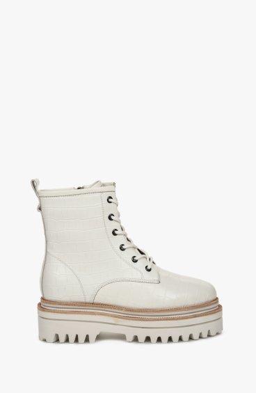 Ботинки белые Estro ER00108697
