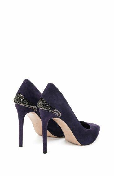 Туфли-лодочки estro фиолетовые ER00105493