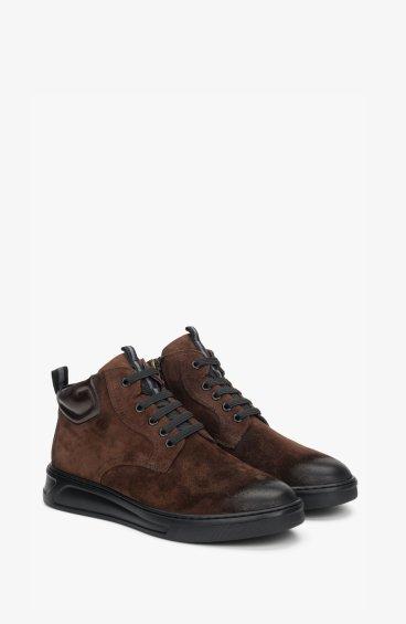 Ботинки коричневые Estro ER00108572