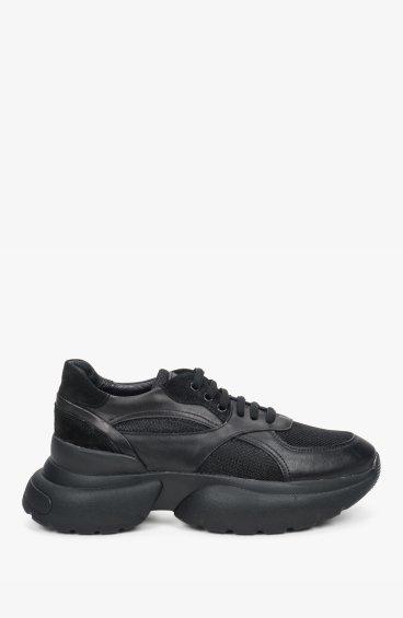 Кроссовки черные Estro ER00109387