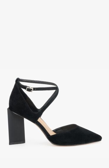 Туфли чёрные Estro ER00108001