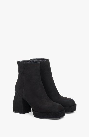 Ботинки черные Estro ER00108626