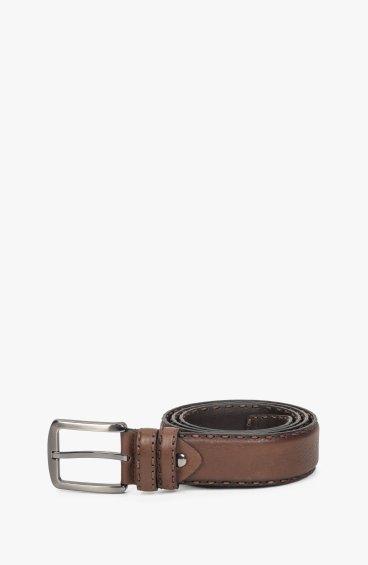Ремінь коричневий Estro ER00109592