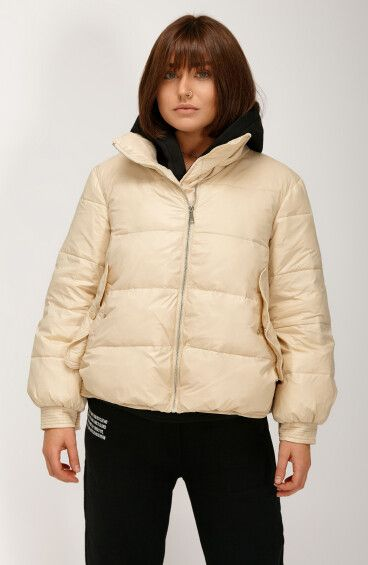 Куртка пуховая на резинке ER00108560