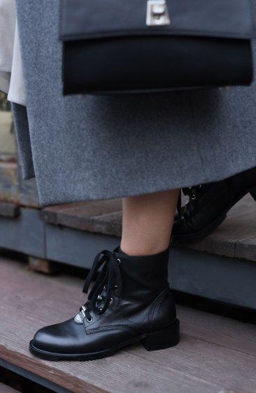 Ботинки черные Estro ER00108669