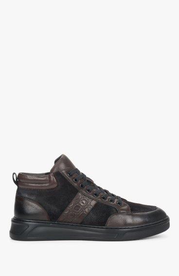 Черевики чорно коричневі Estro ER00110465