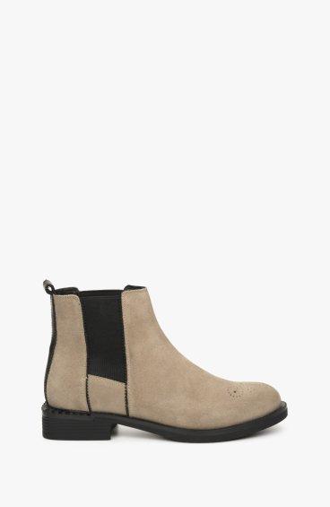 Ботинки серые Estro ER00108939