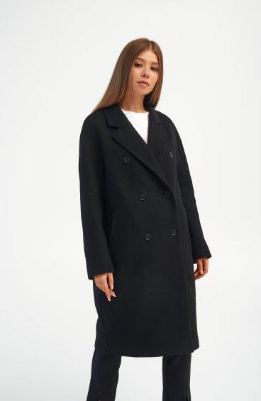 Пальто чорне Estro ER00110287
