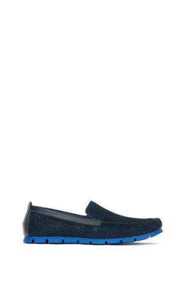 Мокасины синие Estro ER00102133