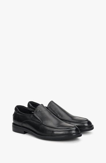 Туфлі чорні чоловічі Estro ER00108286