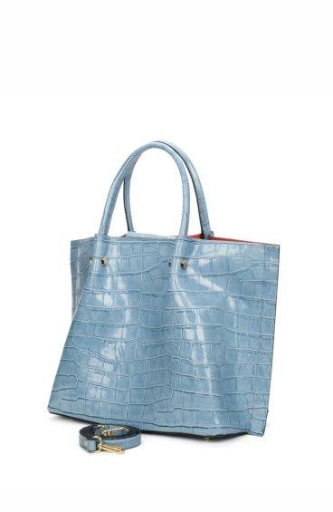 Сумка шоппер Estro блакитна ER00107458