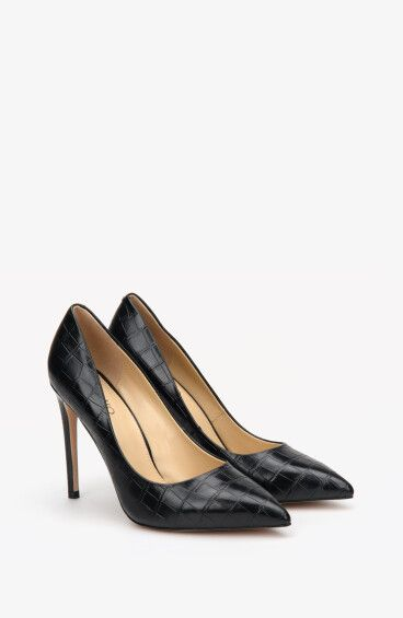 Туфли чёрные Estro ER00108143