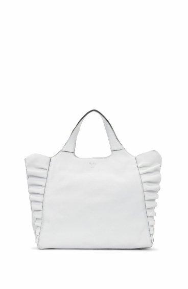 Сумка-шоппер Arcadia белая ER00102497