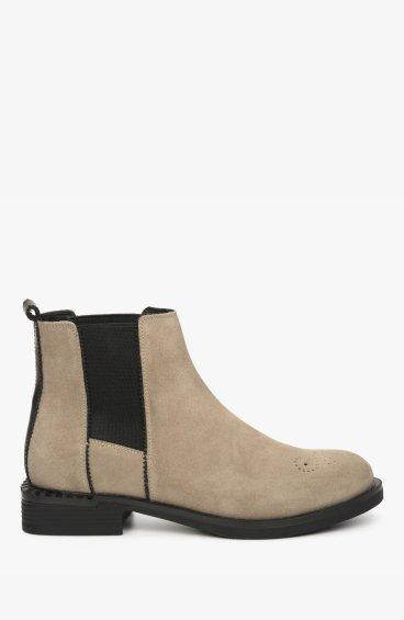 Ботинки с кожаной подкладкой Estro ER00108939