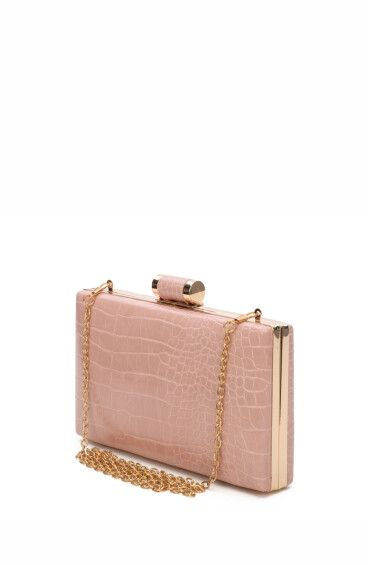 Клатч-бокс розовый Estro ER00107725